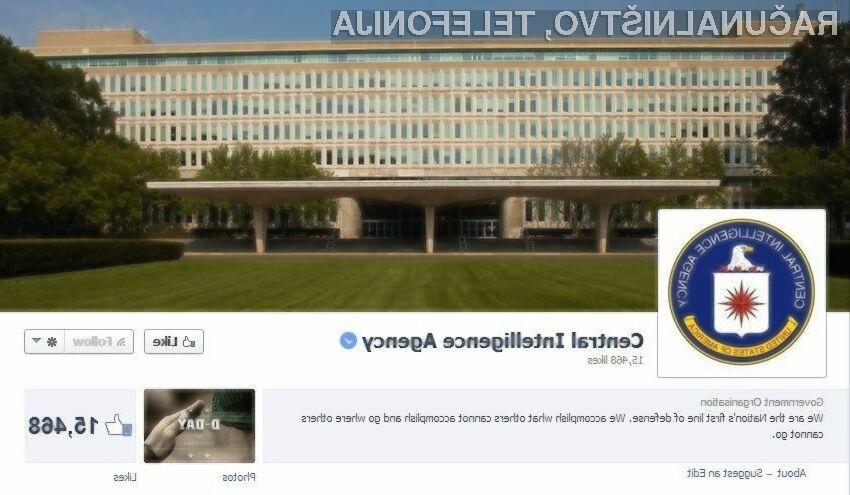 Ameriška obveščevalna agencija CIA je v pičlem dnevu na družbenem omrežju Twitter zbrala že več kot 375 tisoč sledilcev.