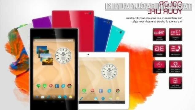 S tabličnim računalniki Prestigio MultiPad Color bomo zagotovo vedno v središču pozornosti.