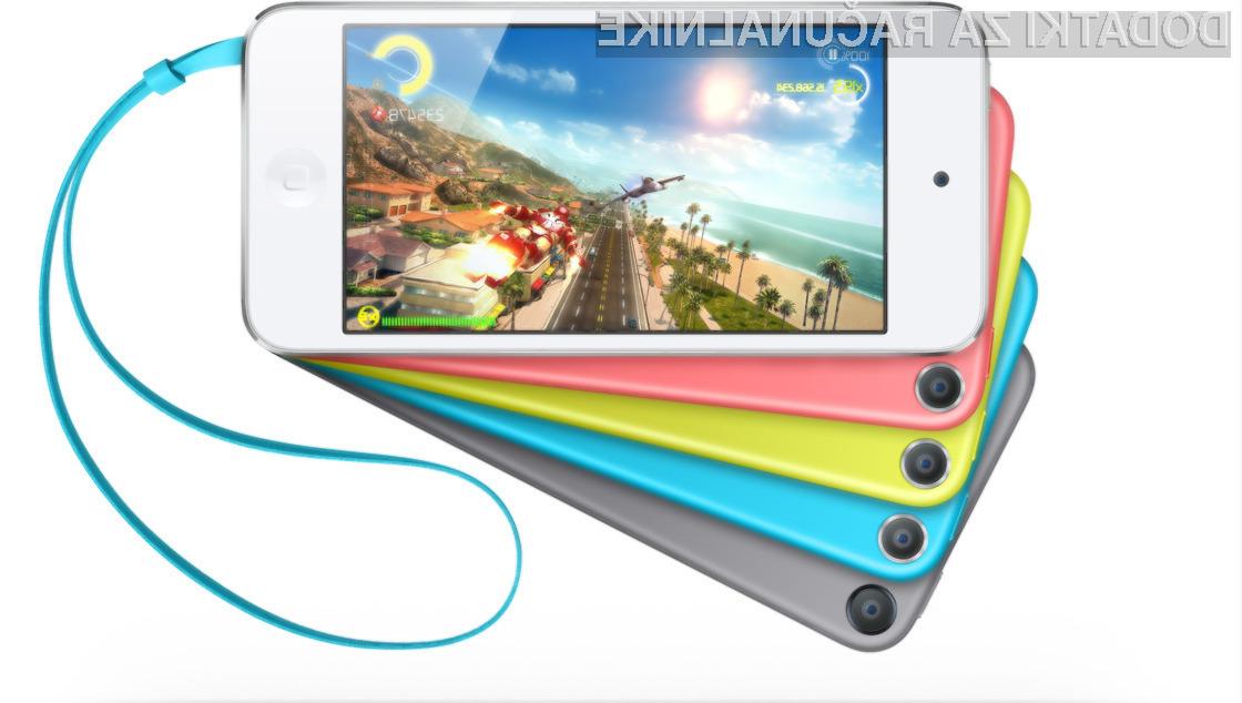 Podjetje Apple bo večpredstavnostni predvajalnik iPod touch reševalo z nižjo maloprodajno ceno!