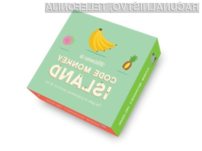 Namizna igra Code Monkey Island je tako zabavna kot poučna.