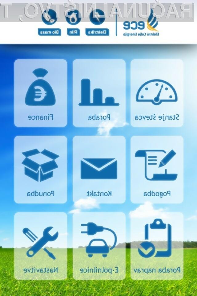 Nadgradnja mobilne aplikacije za spremljanje računa za elektriko