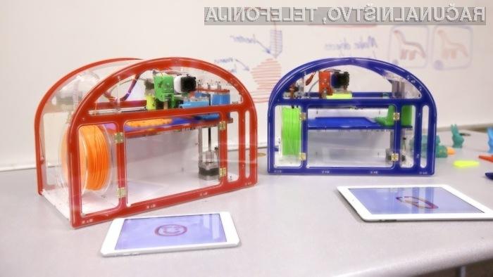 Tiskalnik Printeer bo sprva mogoče uporabljati le v navezi z Applovimi tabličnimi računalniki iPad.