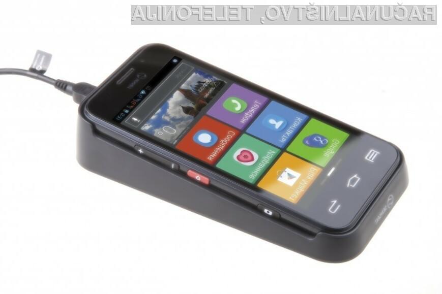 Pametni mobilni telefon Senseit L301 je sila preprost za uporabo!