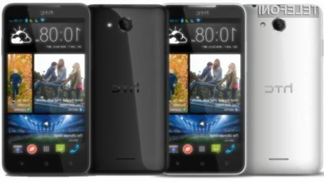 Mobilnik HTC Desire 516 je kljub relativno nizki maloprodajni ceni kos tudi nekoliko zahtevnejšim nalogam.