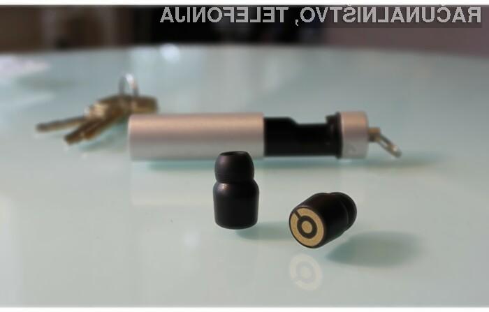 Earin so najmanjše brezžične slušalke doslej!