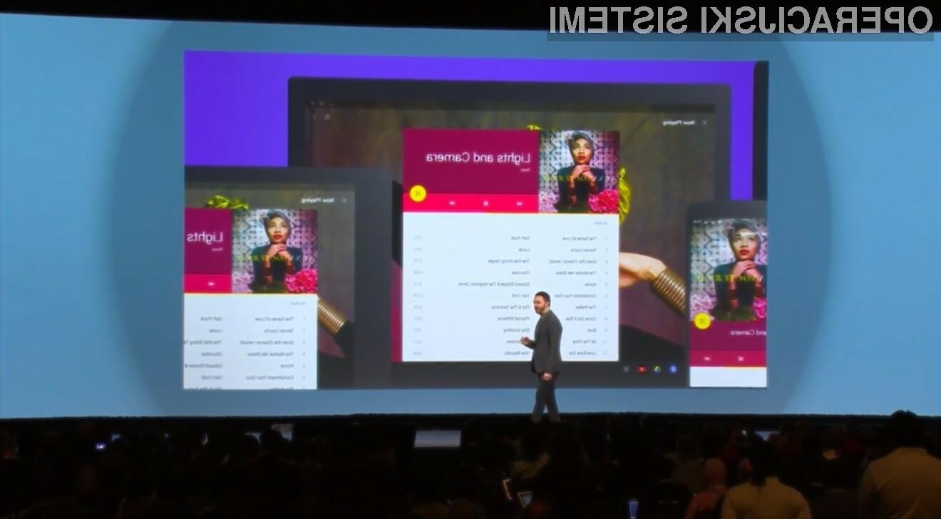 Glavna aduta mobilnega operacijskega sistema Android L sta nedvomno povsem prenovljeni grafični vmesnik in hitrejše delovanje.