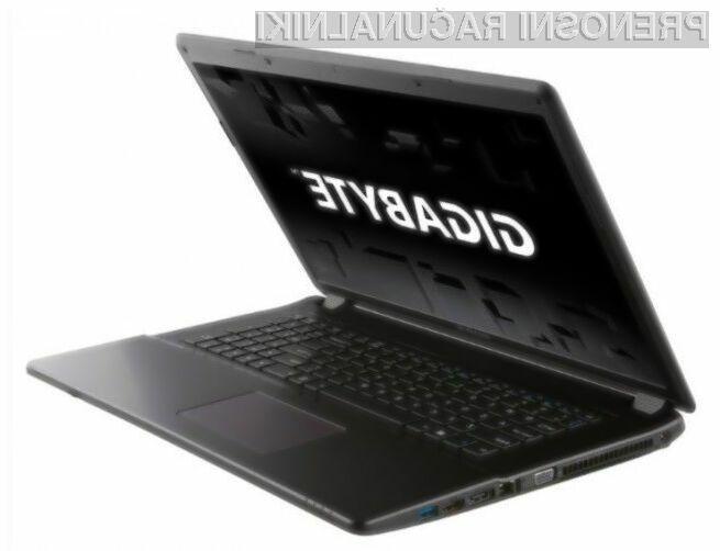 Prenosni računalnik Gigabyte Q2756N V2 poka od zmogljivosti!
