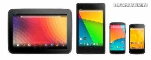 Android 4.4.4 KitKat je že na voljo za Googlove mobilne naprave družine Nexus!