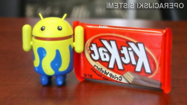 Mobilni operacijski sistem Android 4.4.2 KitKat bo prejela le še peščica mobilnih naprav Android.