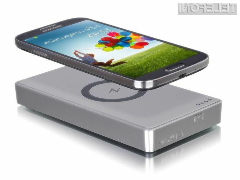 Brezžični sistem Luxa2 uporabnikom starejših mobilnikov Samsung Galaxy prinaša možnost brezžičnega polnjenja.
