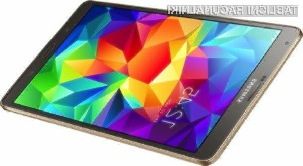 Glavna aduta tablic Samsung Galaxy Tab S je izjemno kakovostni zaslon visoke ločljivosti Super AMOLED.