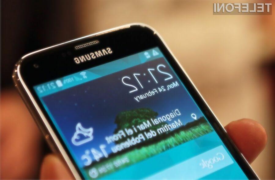 Mobilnik Galaxy S5 LTE-A z vrhunskim zaslonom QHD!