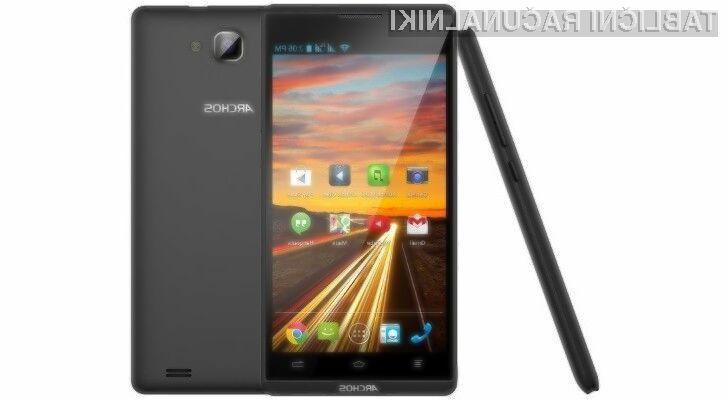 Mobilnik Archos 50b Oxygen je kljub nizki maloprodajni ceni nadvse odziven.