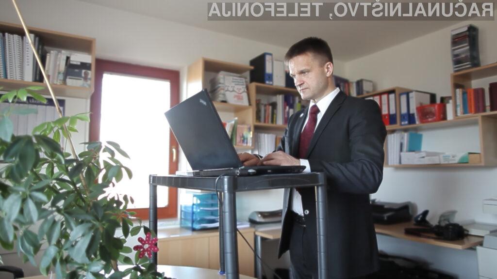 Stoječe delo poveča delovno učinkovitost