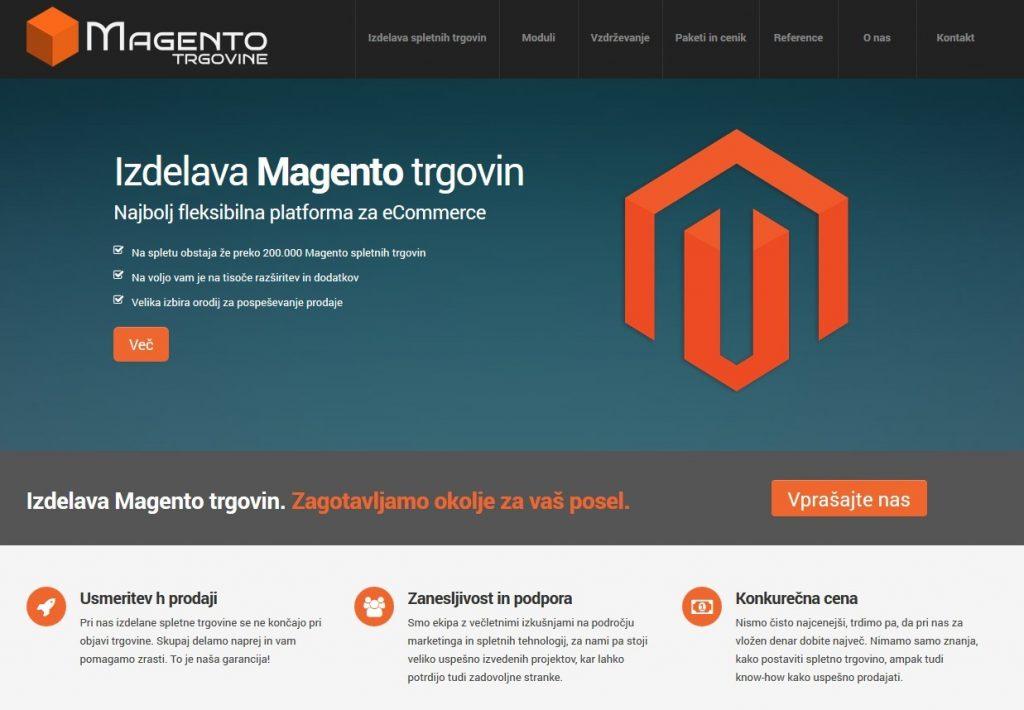 Popularna platforma Magento