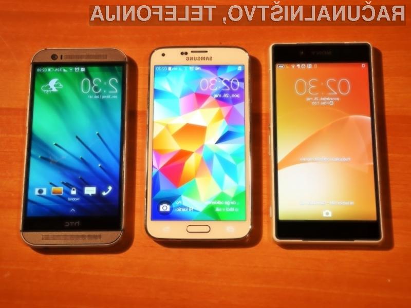 Sony Xperia Z2 vs. Samsung Galaxy S5 vs. HTC One M8