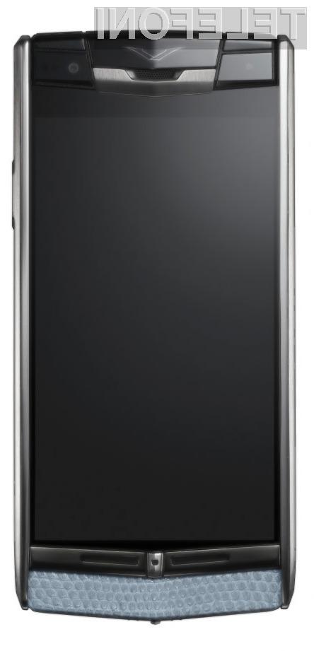 Za prestižni mobilnik Android Signature Touch je potrebno odšteti kar preračunanih 8.300 evrov!