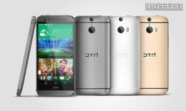 Podjetje HTC je s pripravo pametnega mobilnega telefona One M8 zadelo v polno!