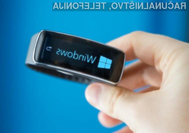 Tako oblika kot maloprodajna cena Microsoftove pametne zapestnice naj bi bila enaka Samsungovi zapestnici Gear Fit.
