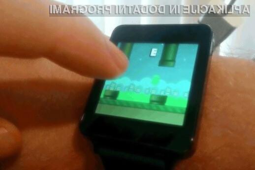 Igra Flopsy Droid se odlično znajde na mobilnih napravah Android Wear, ki so opremljene s kompaktnimi zasloni na dotik.