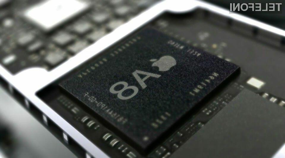 Applov procesor A8 naj bi bil precej zmogljivejši od modela A7.