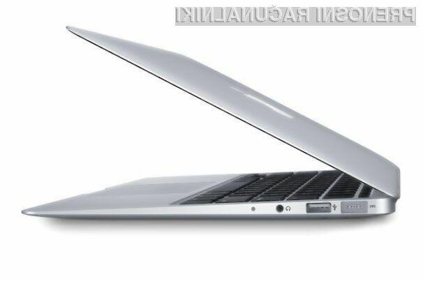 Na novi MacBook Air z zaslonom Retina bo potrebno počakati vsaj do pomladi leta 2015.