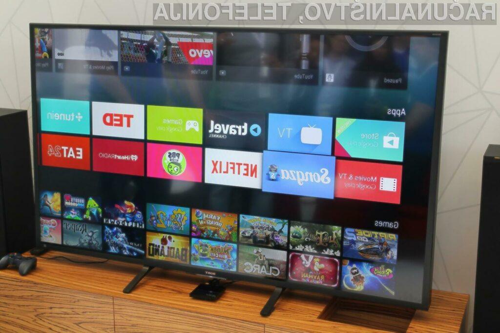 Podjetje Google želi z napravo Android TV prevzeti vodilni položaj tudi na področju domače zabave.