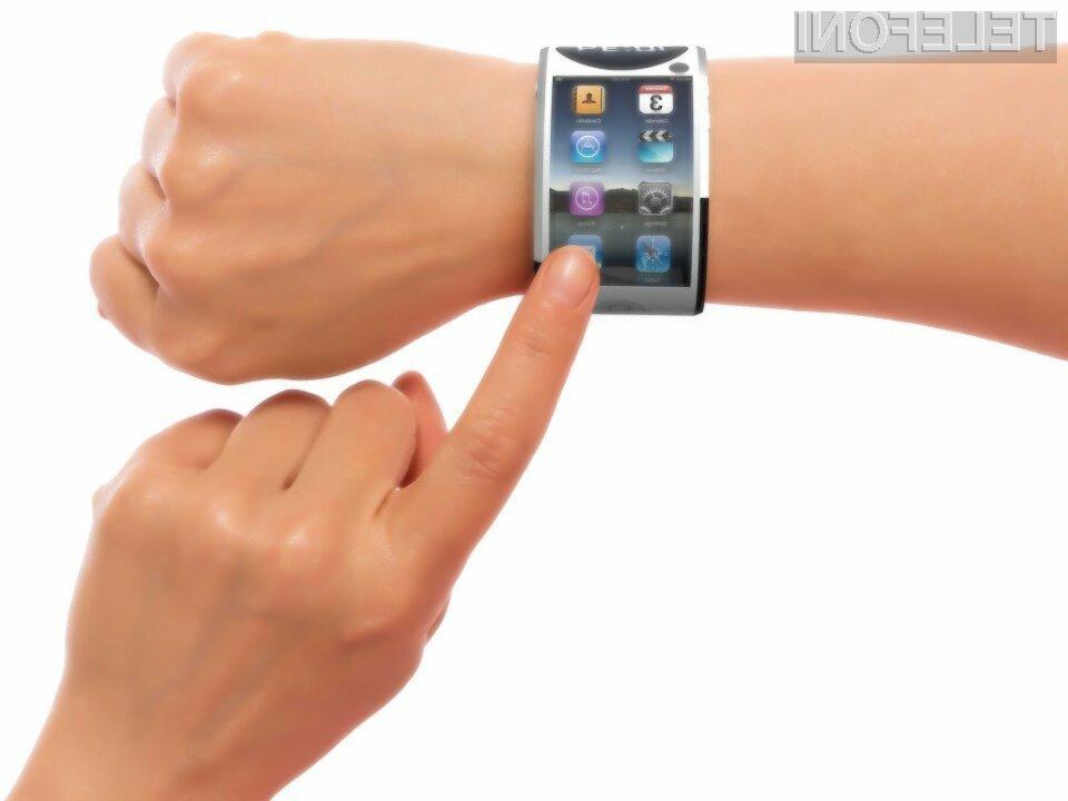 Pametna ročna ura Apple iWatch naj bi bila opremljena s kar 2,5-palčnim zaslonom!