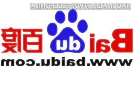Spletni iskalnik Baidu se vse bolj postavlja po robu iskalniku Google.