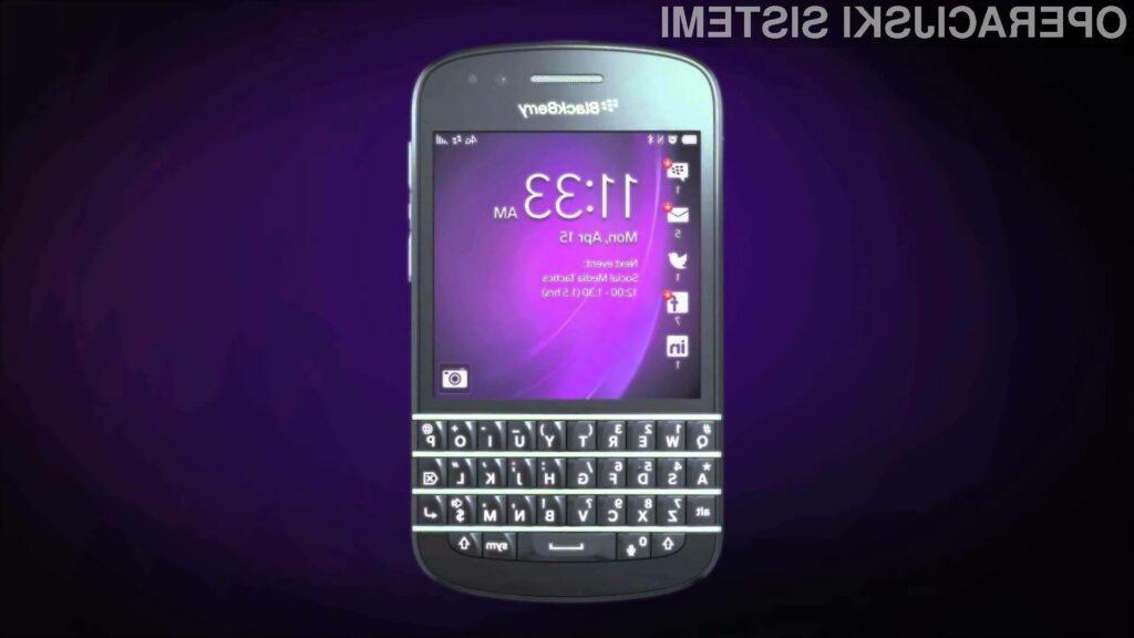 Kaj se je zgodilo s tabo BlackBerry?