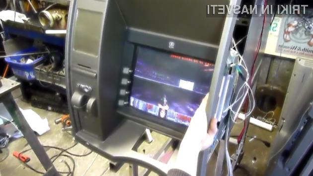 Legendarna računalniška igra Doom se odlično prilega bankomatom!