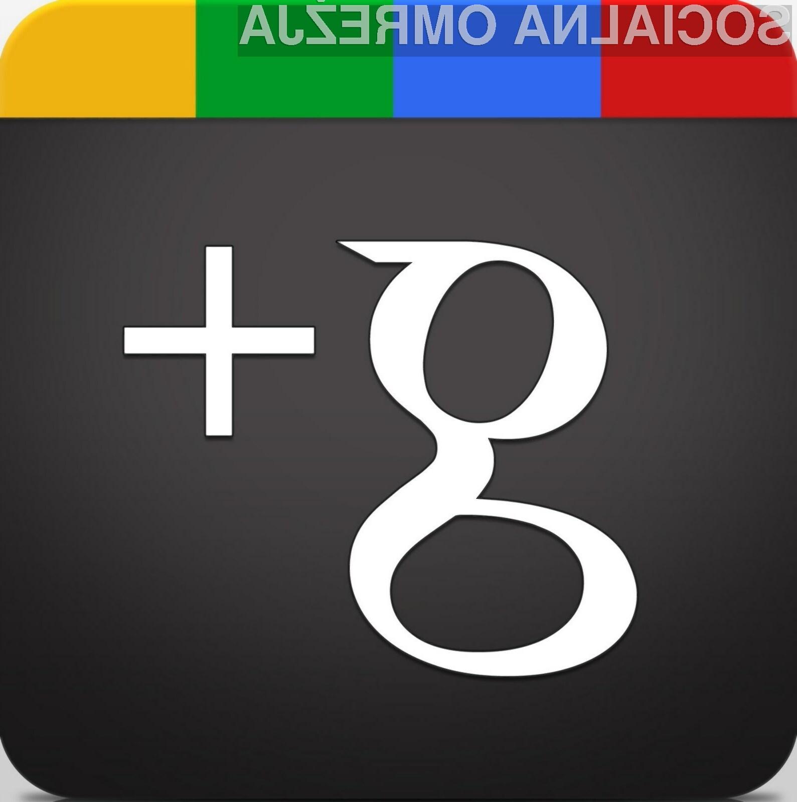 Googlovo družbeno omrežje Google+ po novem dopušča možnost registracije s psevdonimom.