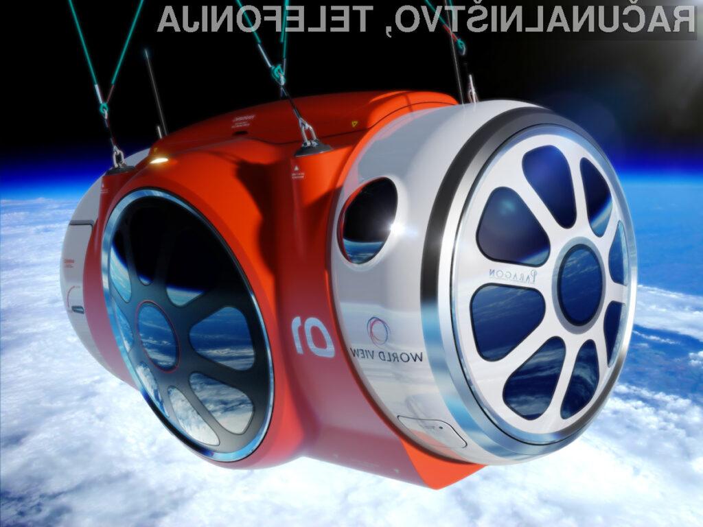 Z višinskim balonom podjetja World View Enterprises bo mogoče poleteti na višino več kot 30 tisoč metrov!