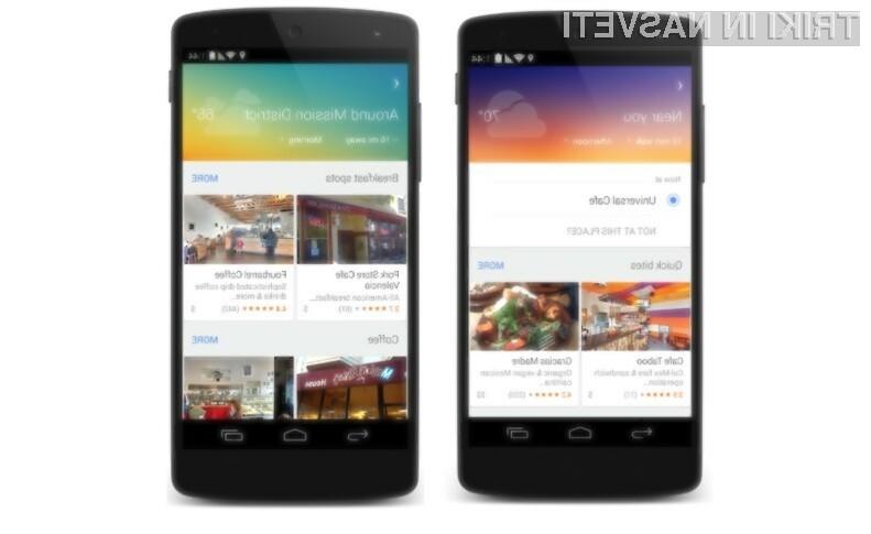 Prenovljeni Google Maps bo uporabnikom mobilnih naprav Android in iOS omogočal lažje načrtovanje počitnic.