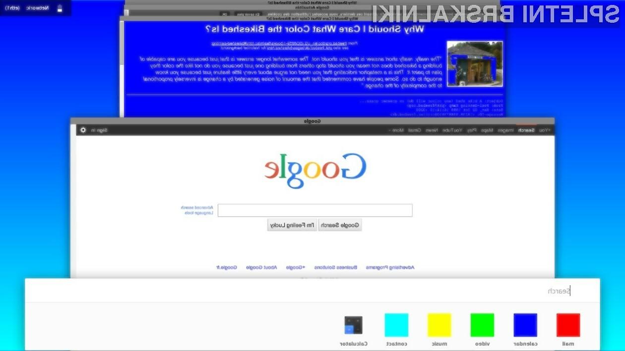 Novi Google Chrome naj bi se grafično ujemal z grafičnimi elementi mobilnega operacijskega sistema Android L.
