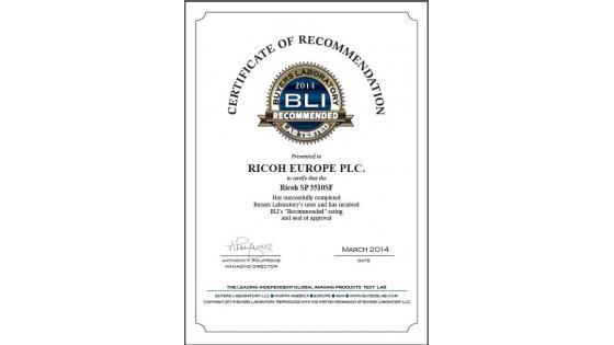 BLI Certifikat