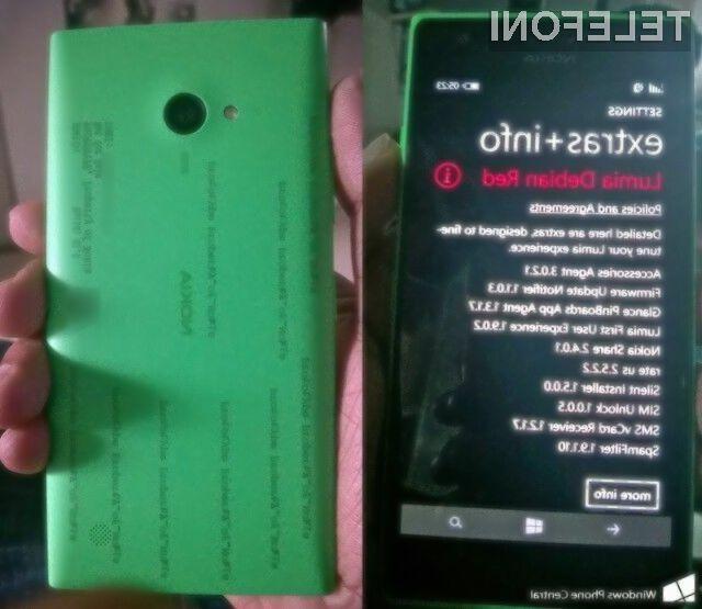 Ljubitelji »selfijev« bodo zagotovo vzljubili pametni mobilni telefon Nokia Lumia 730.