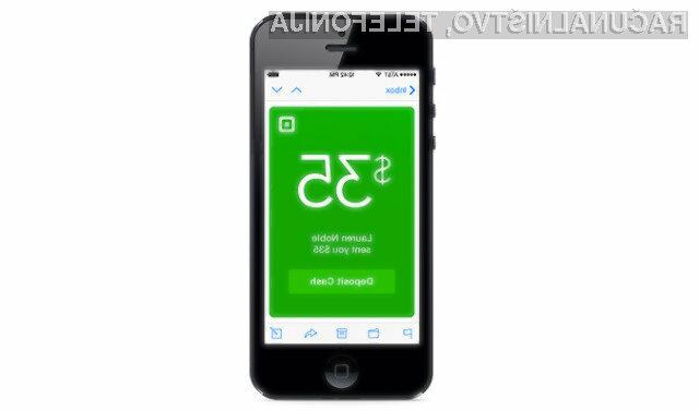 Square Cash z možnostjo pošiljanja denarja preko tekstovnih sporočil