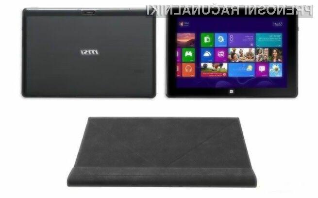 Zanimivi računalnik MSI S100 tri-v-enem lahko uporabljamo v kar treh vlogah!