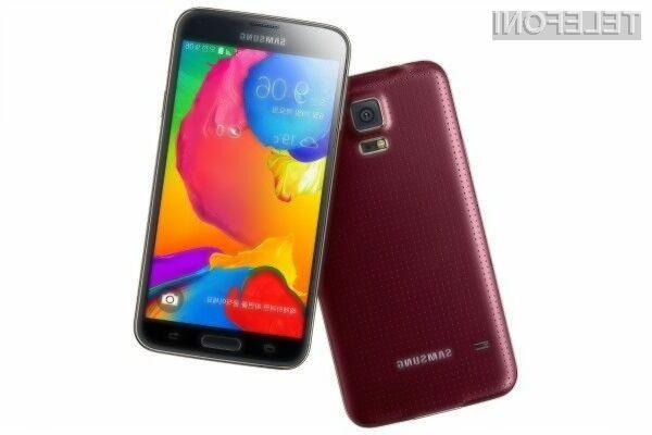 Pametni mobilni telefon Samsuing Galaxy S5 LTE-A bi se lahko v evropskem prostoru pojavil še pred jesenjo!