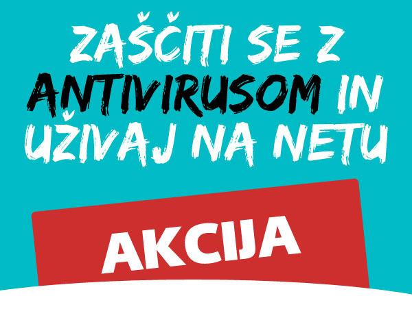 Akcija: Antivirus paket ESET