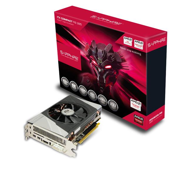 Med tremi novimi modeli serije R9 285, sta tudi model Dual-X in ITX Compact OC