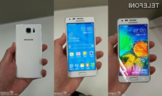 Pametni mobilni telefon Samsung Galaxy Alpha bo zlahka prepričal poslovneže in petičneže!