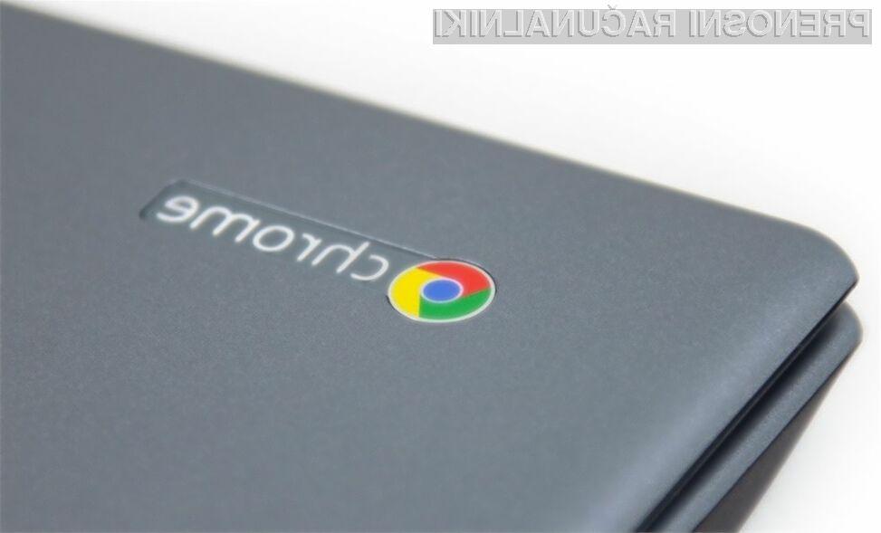 Povpraševanje po prenosnih računalnikih Google Chromebook je iz leta v leto večje!