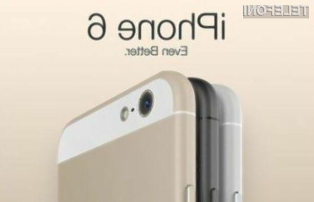 Applov pametni mobilni telefon naj bi bil pričakovano na voljo v beli, črni in zlati barvi.