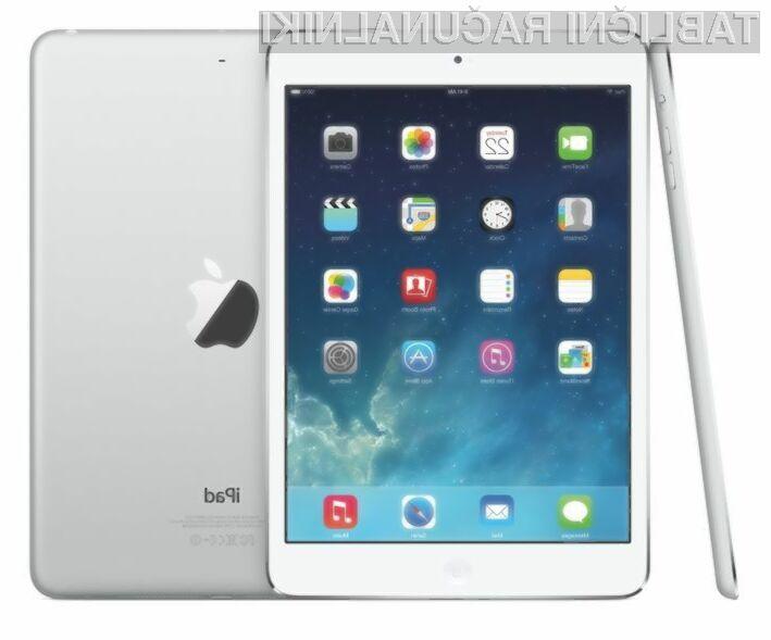 Eden glavni adutov tabličnega računalnika iPad Air 2 naj bi bil premaz zaslona proti bleščanju.