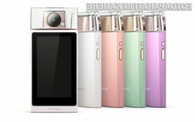 Digitalni fotoaparat Sony Cyber-shot DSC-KW11 je nedvomno najboljši pripomoček za ljubitelje »selfiejev«.