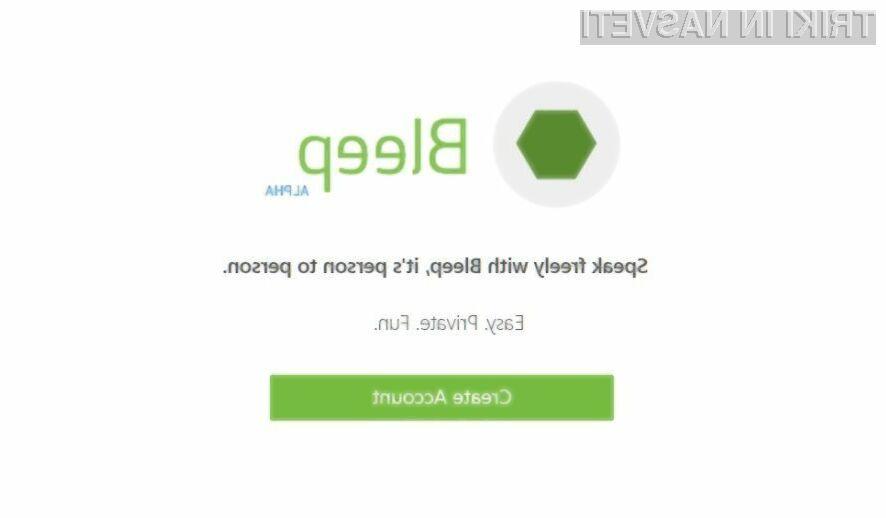 Sporočilni sistem BitTorrent Bleep bo nedvomno velik trn v peti vsem vohunskim organizacijam.