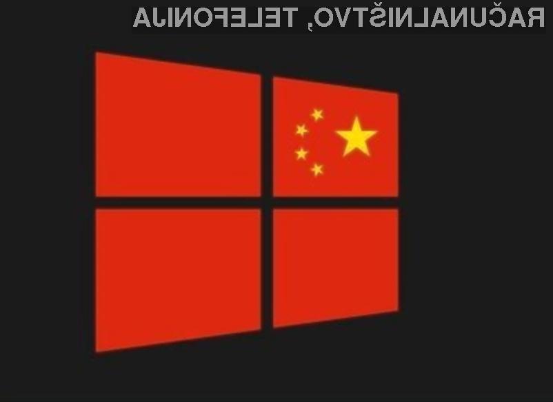 Kitajska bo vse računalnike in mobilne naprave na svojem ozemlju opremila z lastnim operacijskim sistemom.