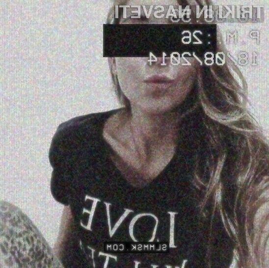 Mobilna aplikacija SLMMSK samodejno uniči vse selfieje.